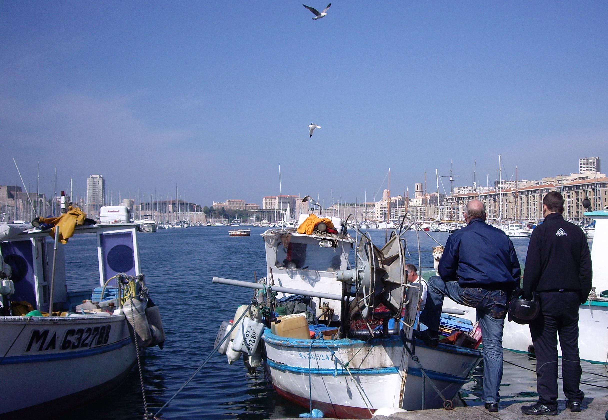 P cheurs marseillais je dis tu dis il dit nous disons - Bouillabaisse marseille vieux port ...