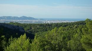 Marseille vue depuis l'Etoile2