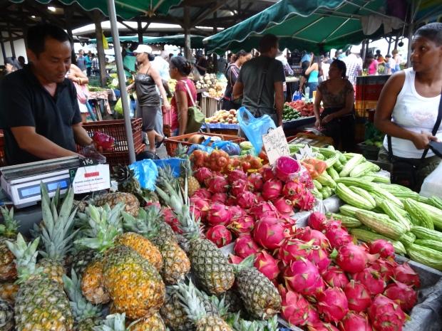 Cayenne le marché