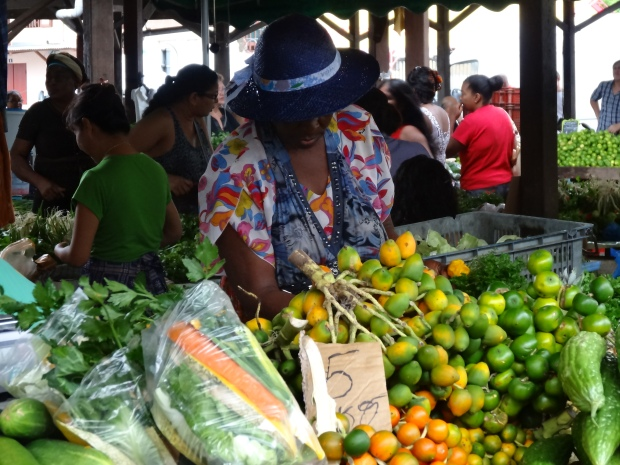 Cayenne Au marché