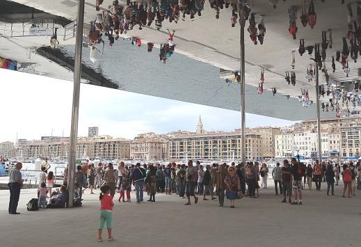 Marseille L' Ombrière du Vieux Port