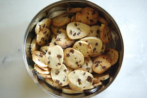 Biscuits dans la boîte