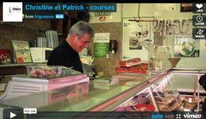 les courses de Patrick Viméo