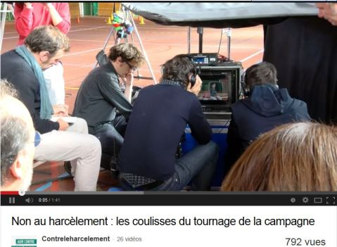 harcèlement making of