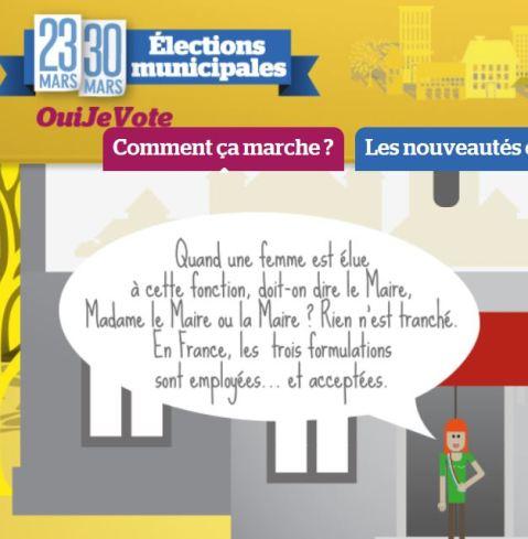 oui je vote le ou la maire