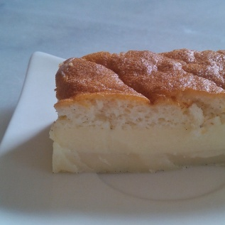 Gâteau magique vanille
