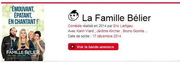 Famille Bélier