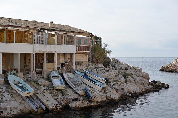 Les bateaux des Goudes
