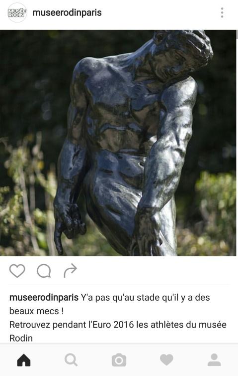 Foot et musée Rodin